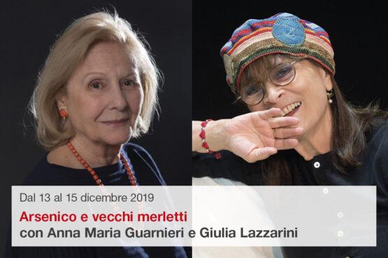 Anna Maria Guarnieri e Giulia Lazzarini in Arsenico e vecchi merletti
