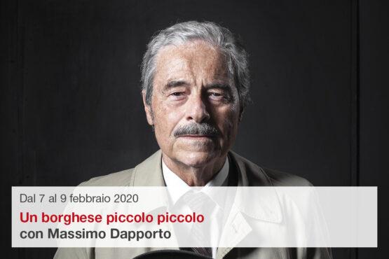 Massimo Dapporto in Un borghese piccolo piccolo