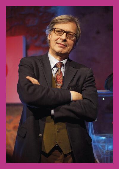 Vittorio Sgarbi in Raffaello