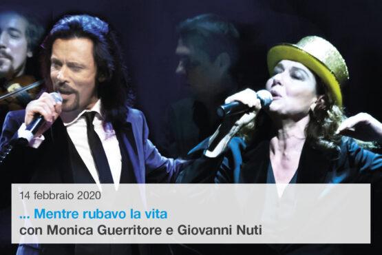 Monica Guerritore e Giovanni Nuti in Mentre rubavo la vita