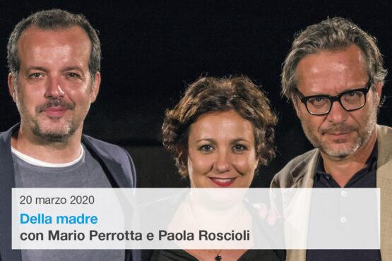 Mario Perrotta e Paola Roscioli in Della madre