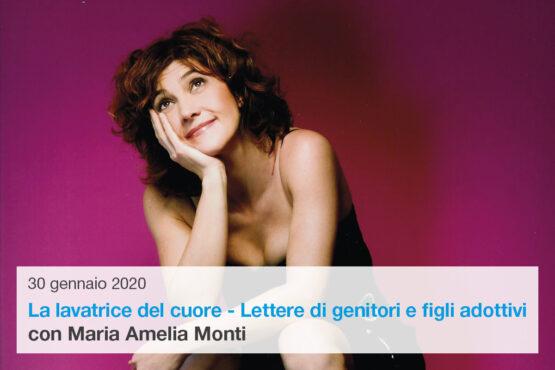 Maria Amelia Monti in La lavatrice del cuore – Lettere di genitori e figli adottivi